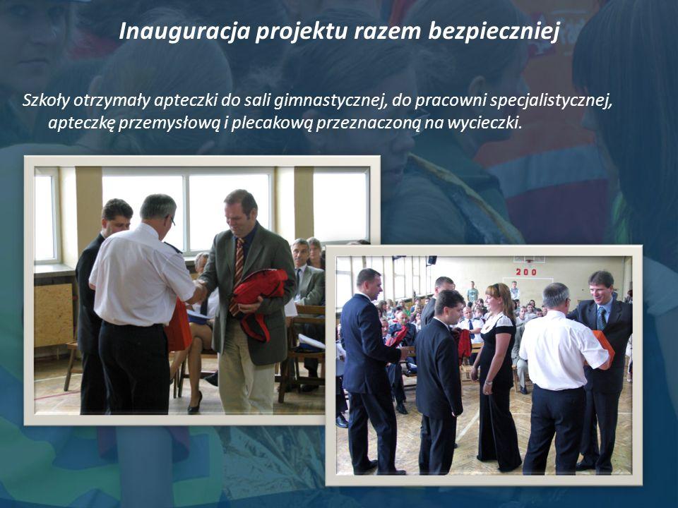 Inauguracja projektu razem bezpieczniej
