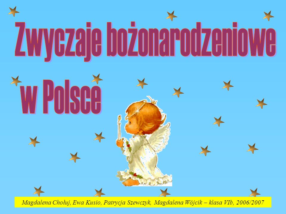 Zwyczaje bożonarodzeniowe w Polsce