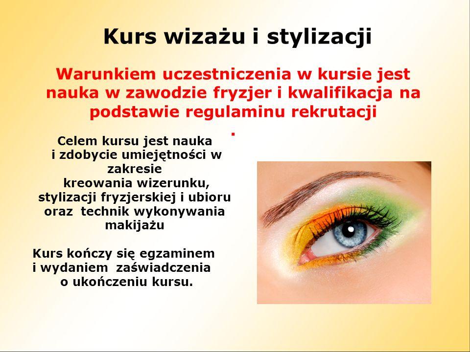 Kurs wizażu i stylizacji