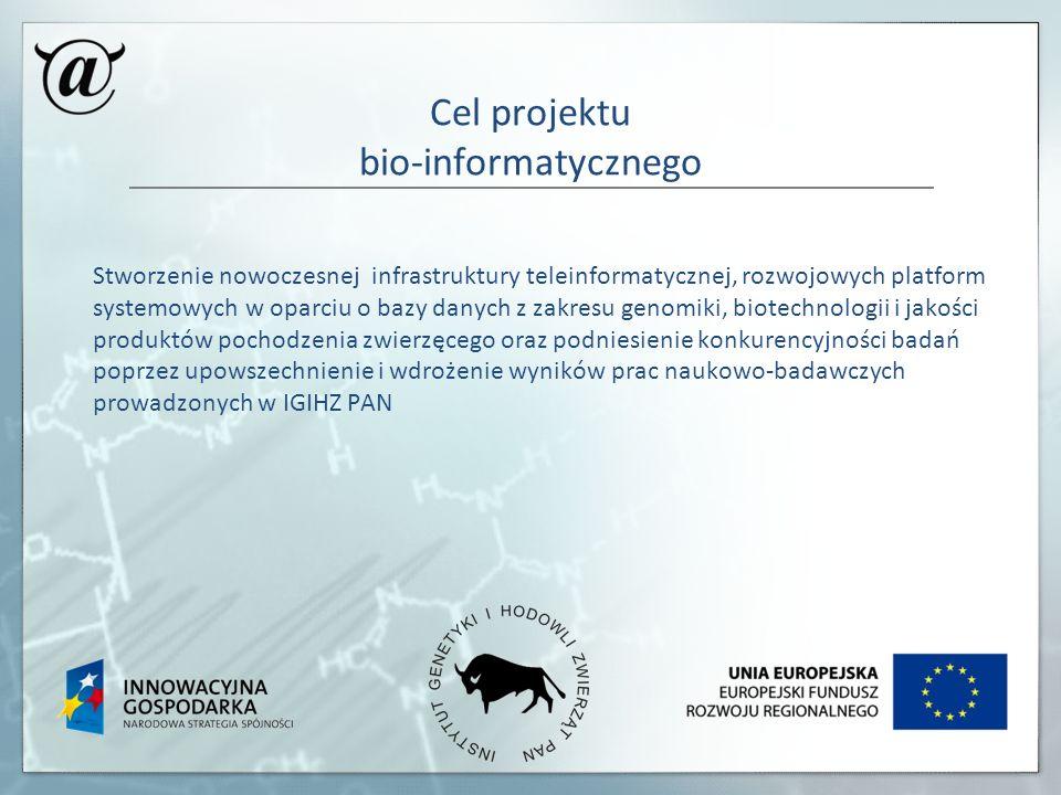 Cel projektu bio-informatycznego