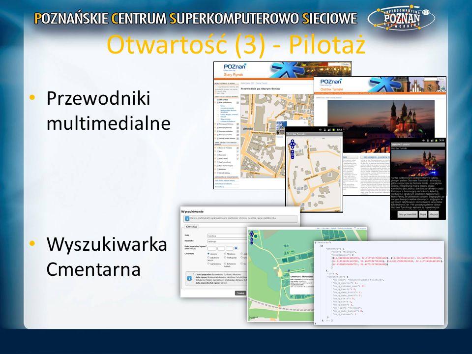 Otwartość (3) - Pilotaż Przewodniki multimedialne