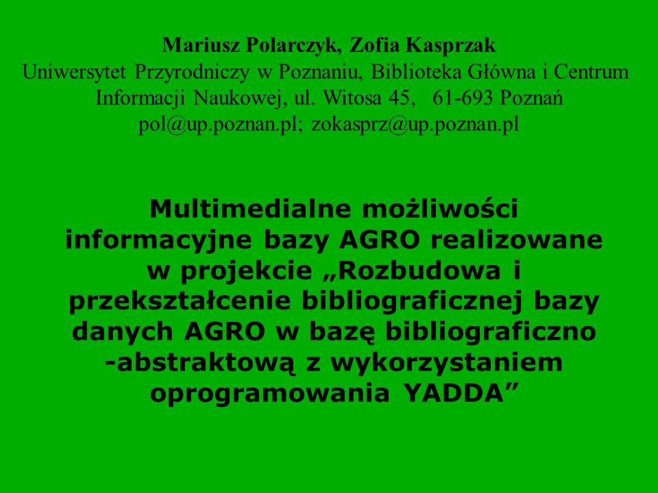 Mariusz Polarczyk, Zofia Kasprzak