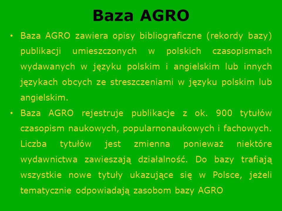 Baza AGRO