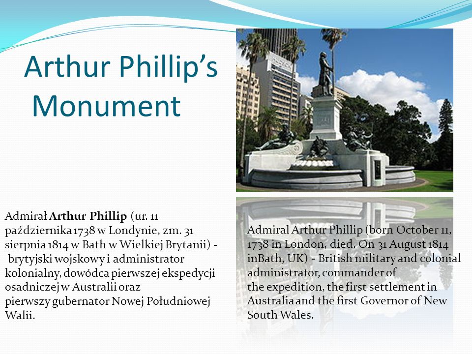 Arthur Phillip's Monument