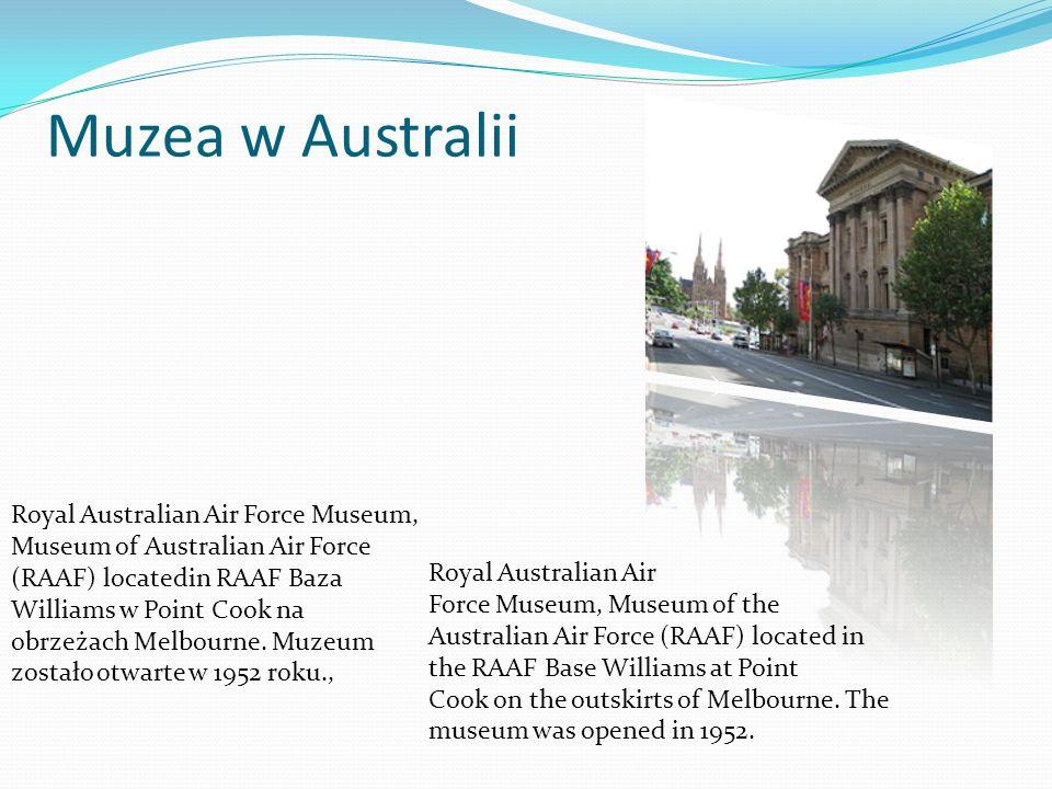 Muzea w Australii