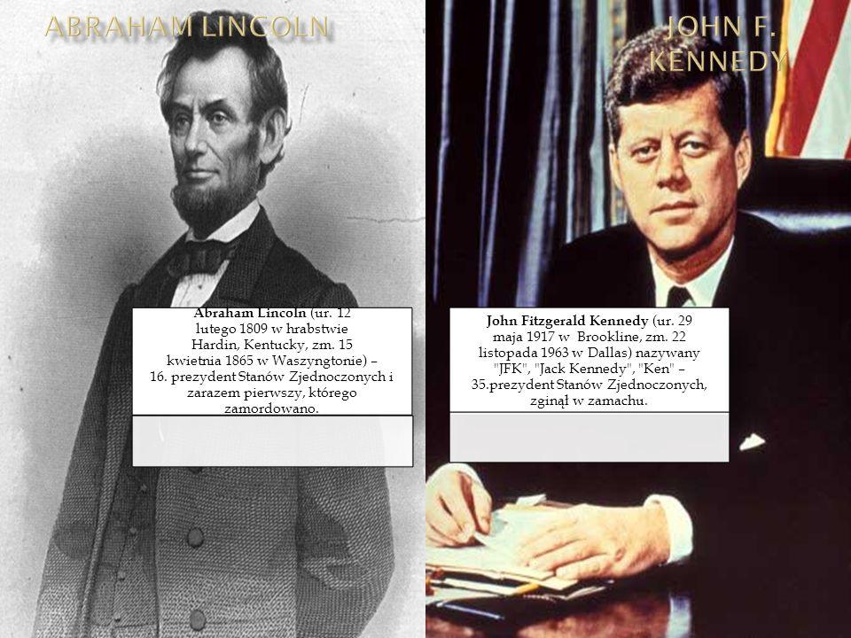 Abraham Lincoln JoHn F. Kennedy