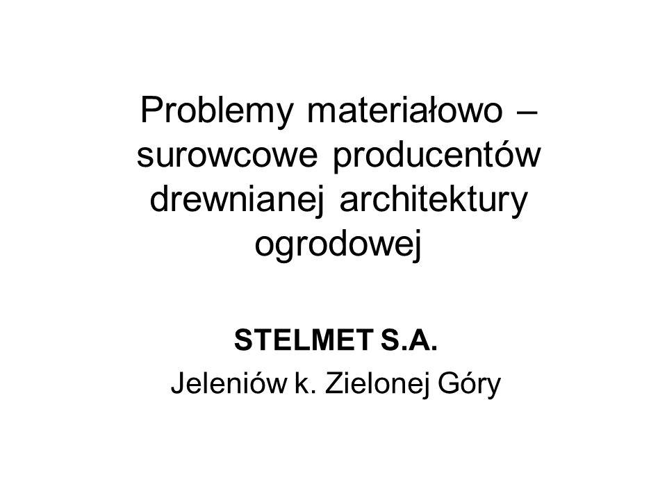 STELMET S.A. Jeleniów k. Zielonej Góry