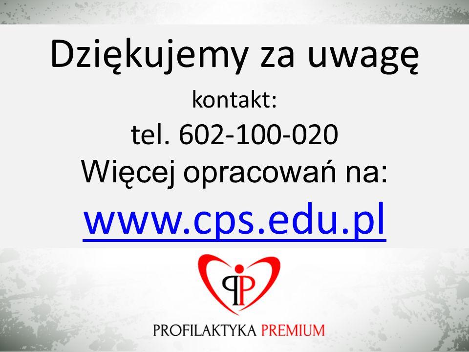 www.cps.edu.pl Dziękujemy za uwagę tel. 602-100-020