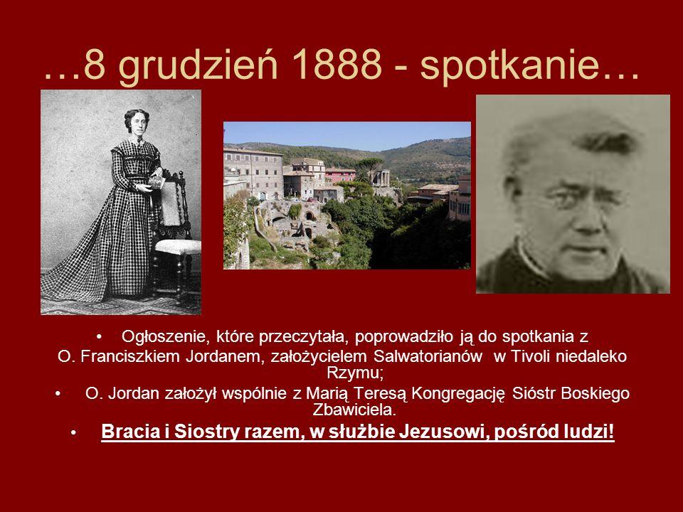 …8 grudzień 1888 - spotkanie…