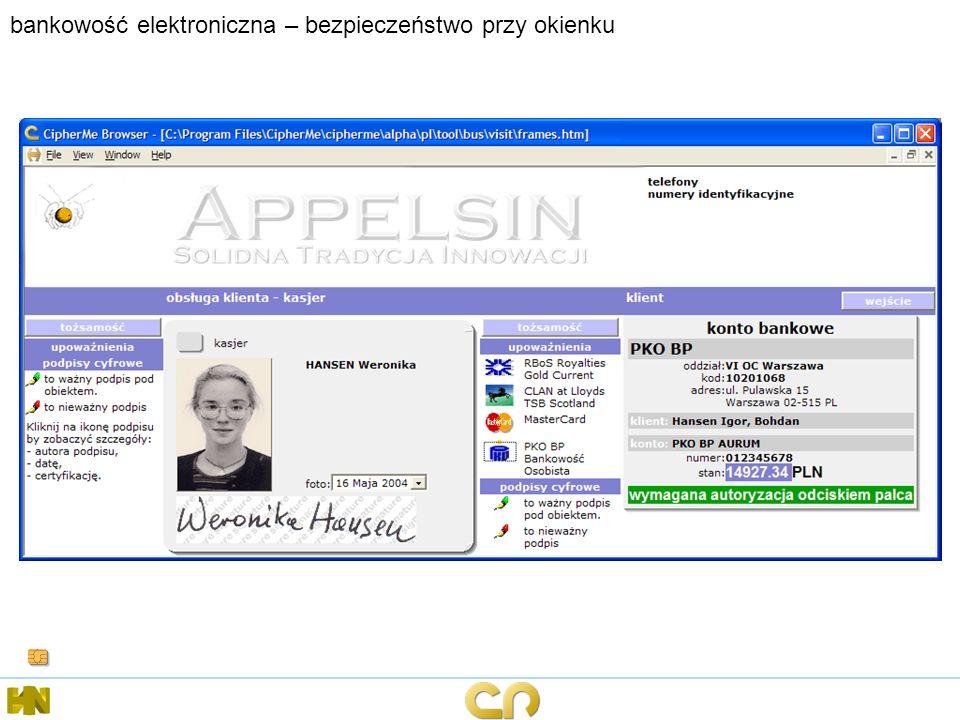 bankowość elektroniczna – bezpieczeństwo przy okienku