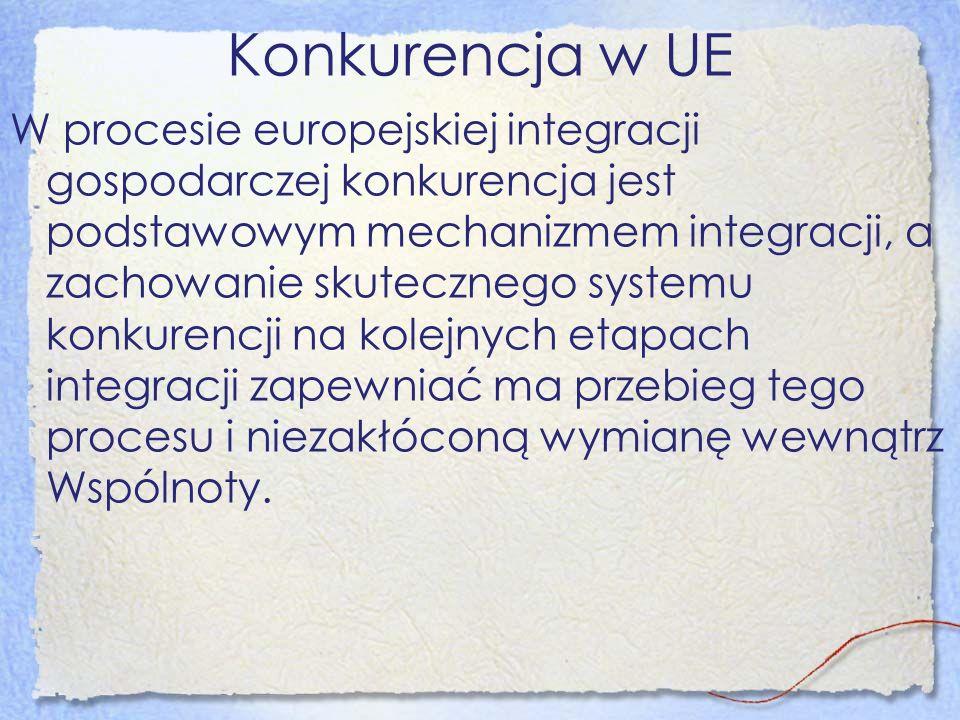 Konkurencja w UE