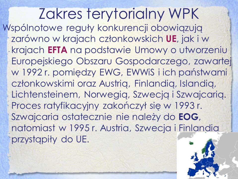 Zakres terytorialny WPK