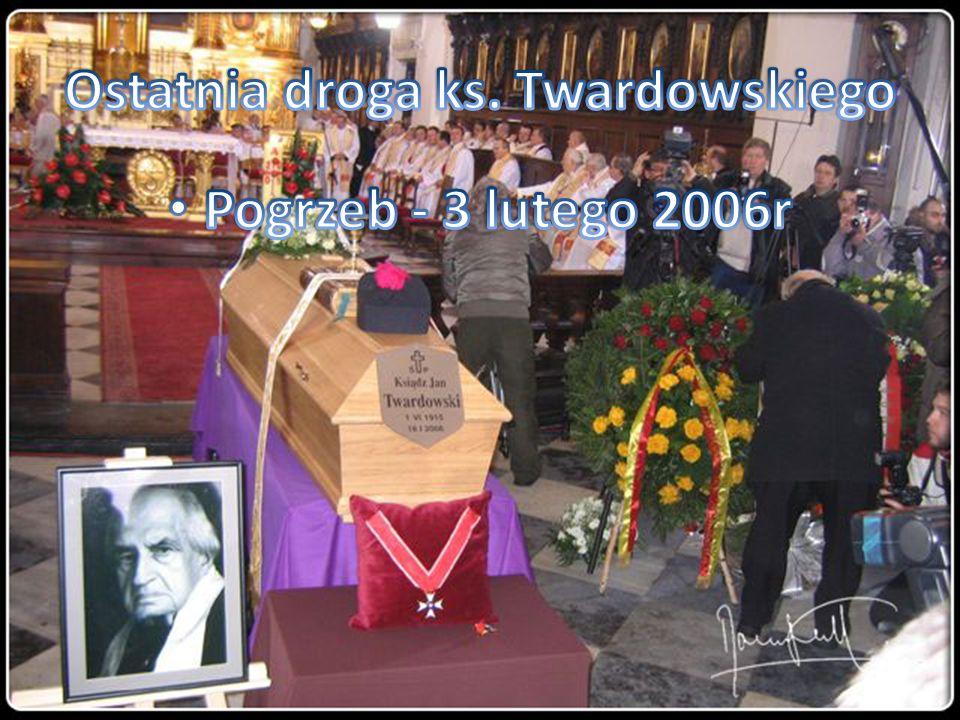 Ostatnia droga ks. Twardowskiego