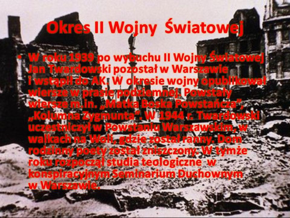 Okres II Wojny Światowej