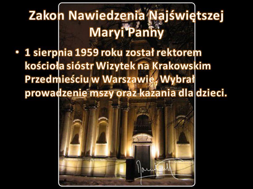 Zakon Nawiedzenia Najświętszej Maryi Panny