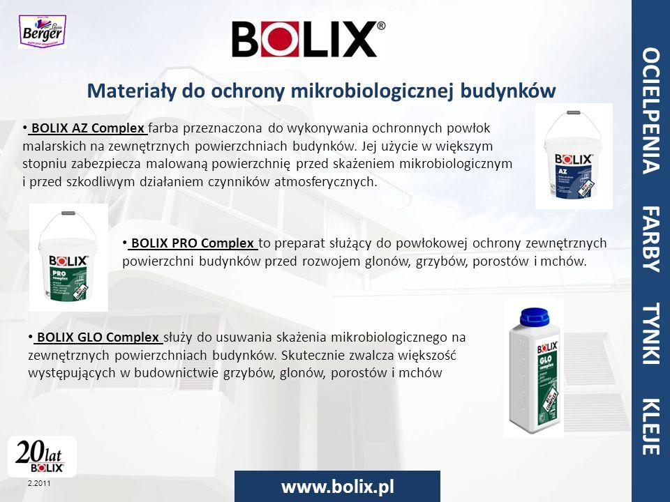 Materiały do ochrony mikrobiologicznej budynków