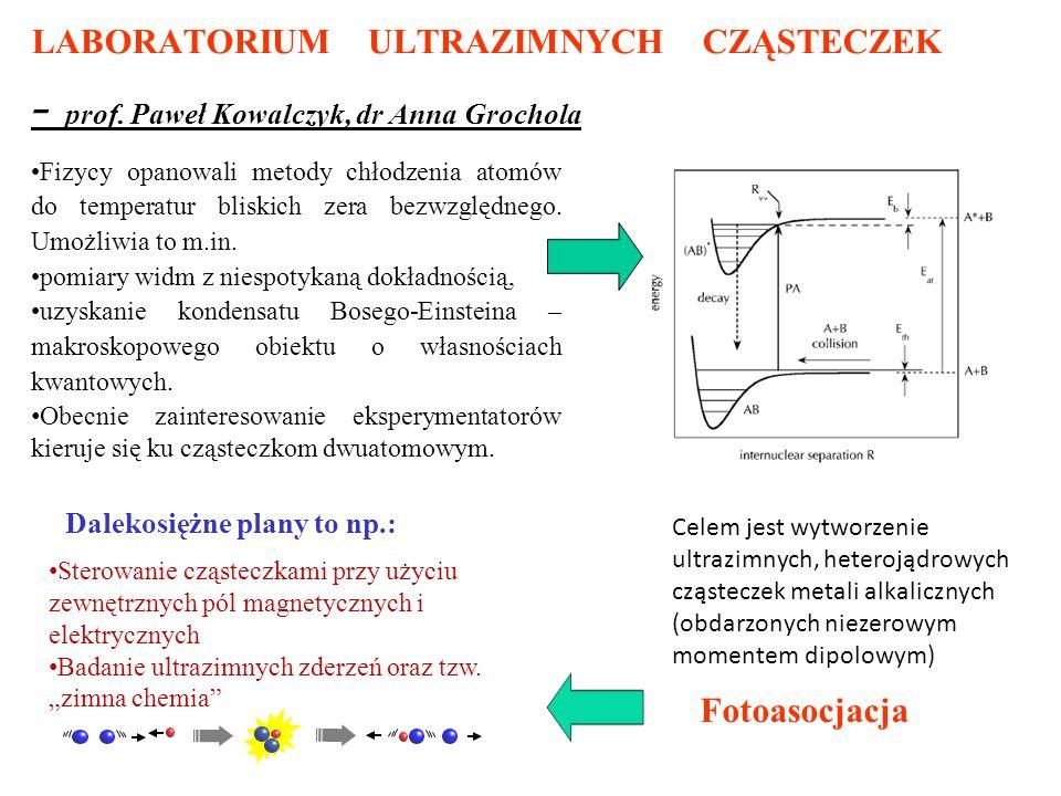 LABORATORIUM ULTRAZIMNYCH CZĄSTECZEK - prof