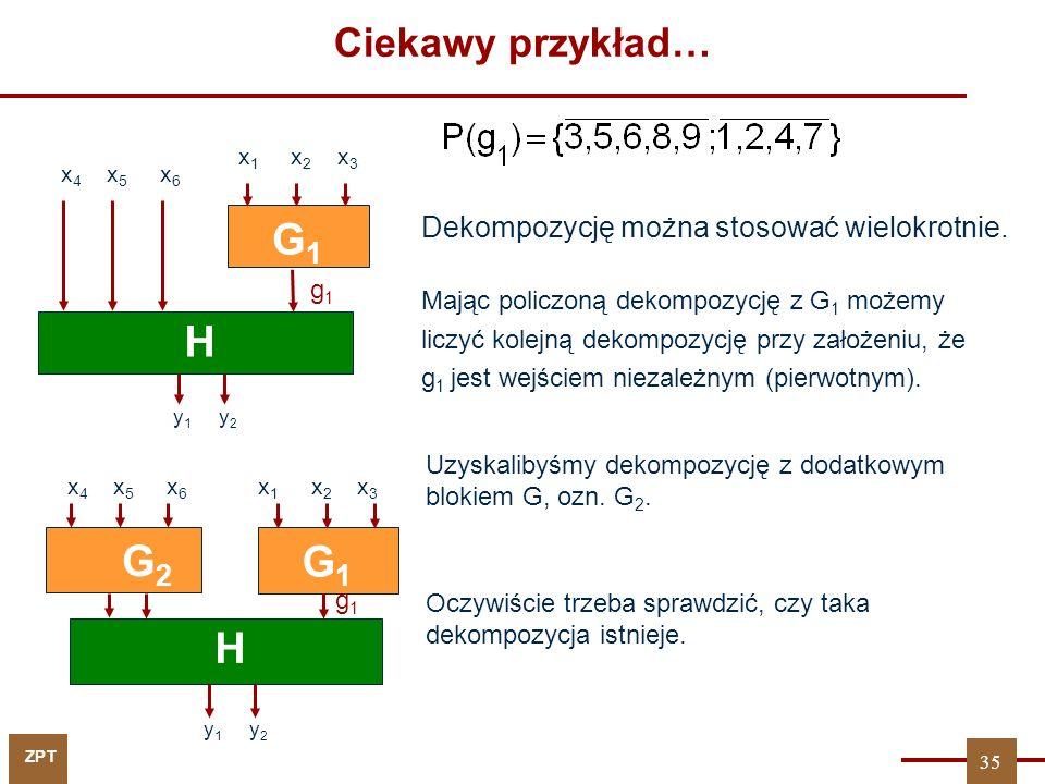 G1 G2 H G2 G1 H Ciekawy przykład…
