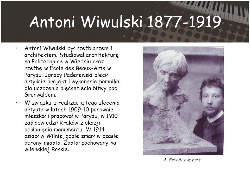 Antoni Wiwulski 1877-1919