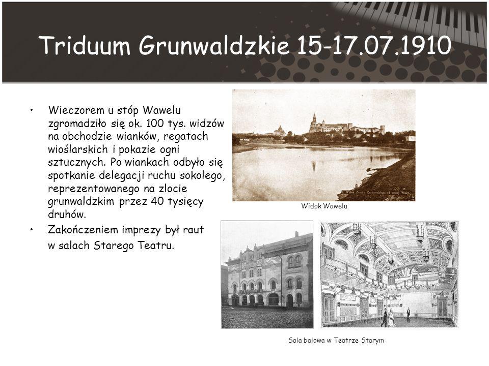 Triduum Grunwaldzkie 15-17.07.1910
