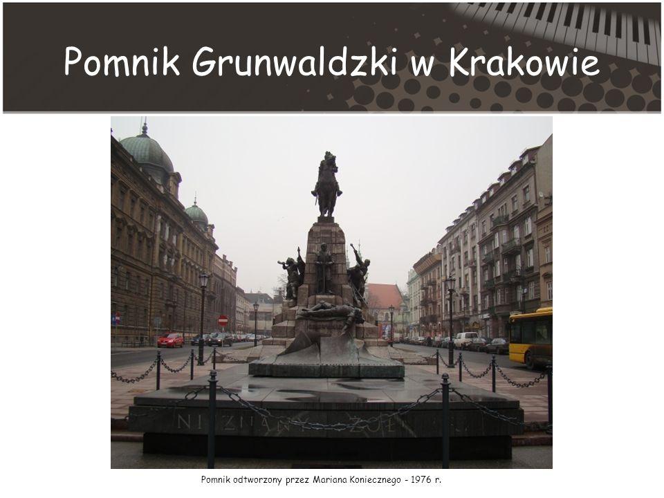 Pomnik Grunwaldzki w Krakowie