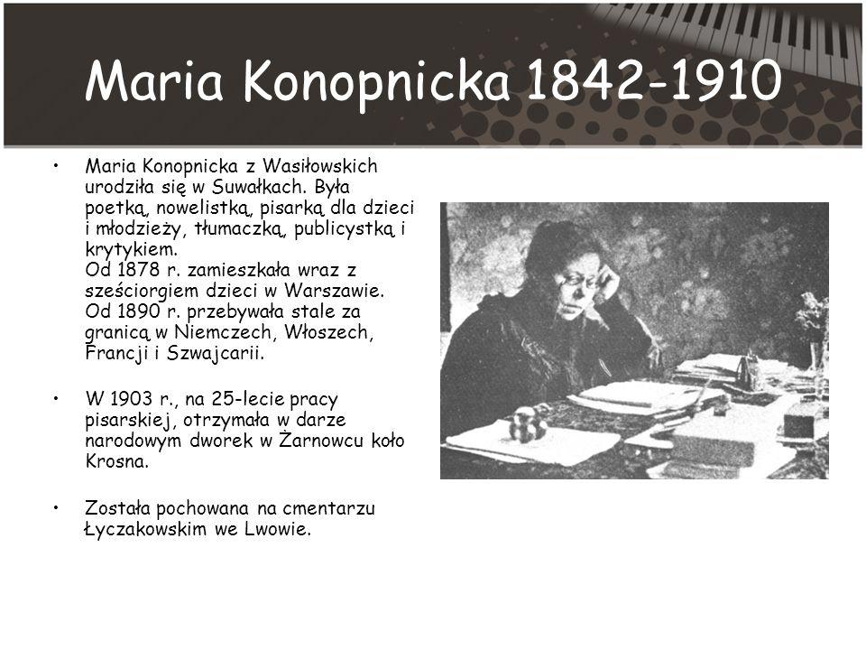 Maria Konopnicka 1842-1910