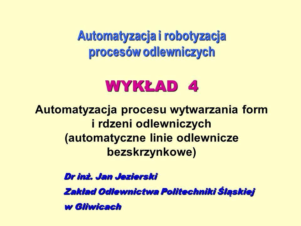Automatyzacja i robotyzacja procesów odlewniczych