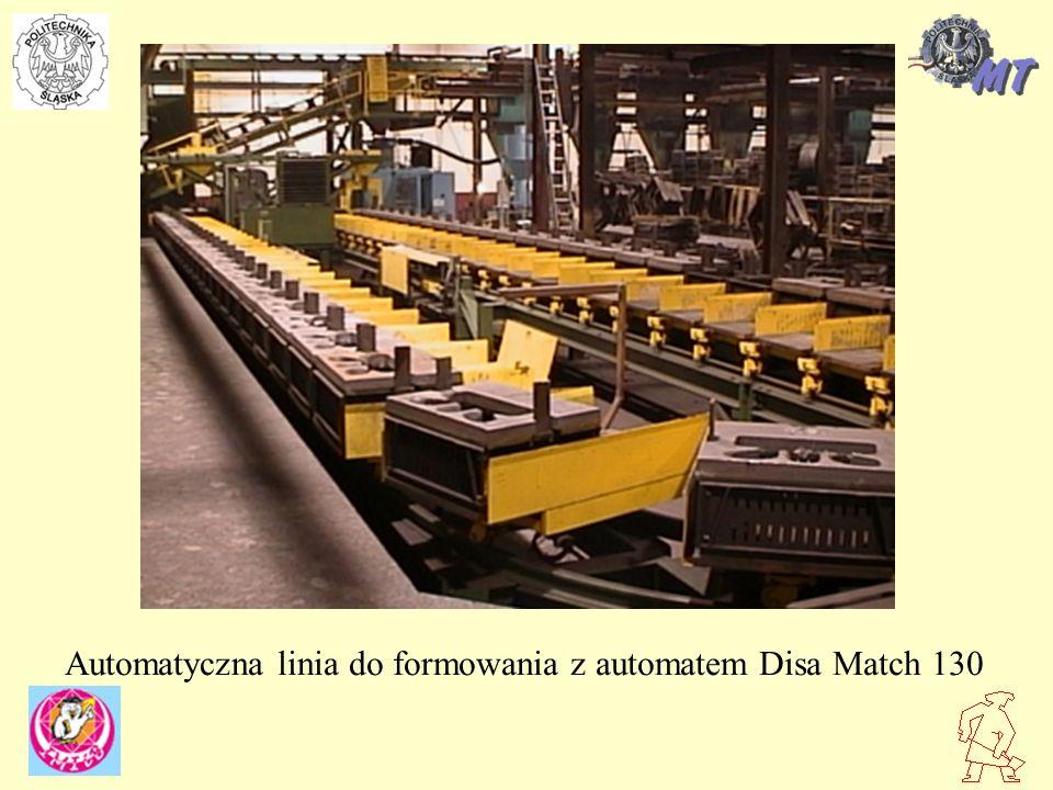 Automatyczna linia do formowania z automatem Disa Match 130