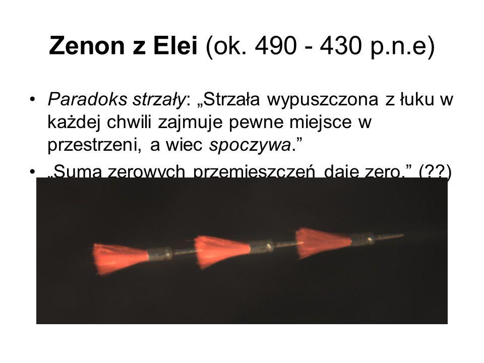 Zenon z Elei (ok. 490 - 430 p.n.e)