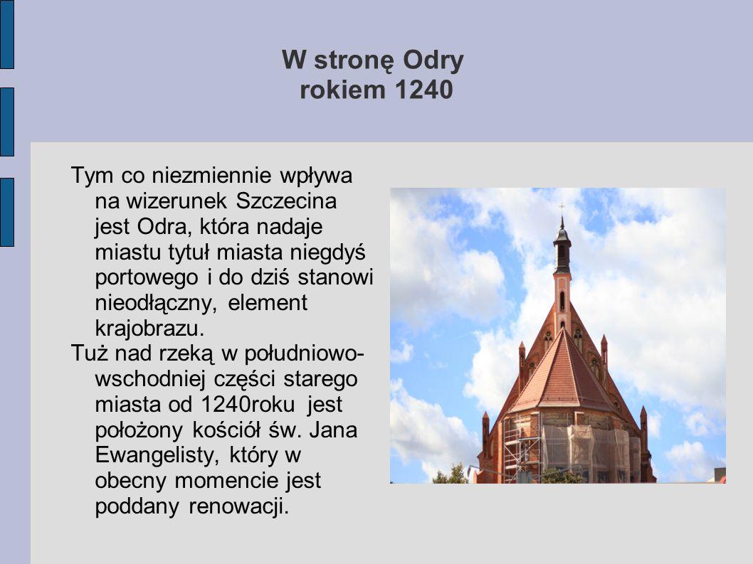 W stronę Odry rokiem 1240