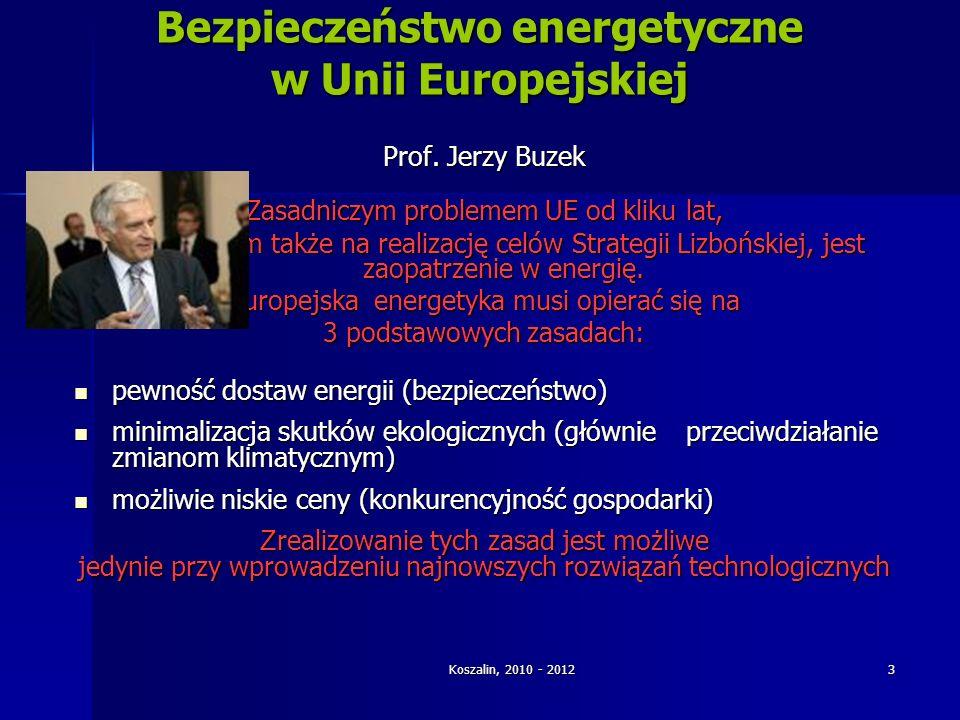Bezpieczeństwo energetyczne w Unii Europejskiej