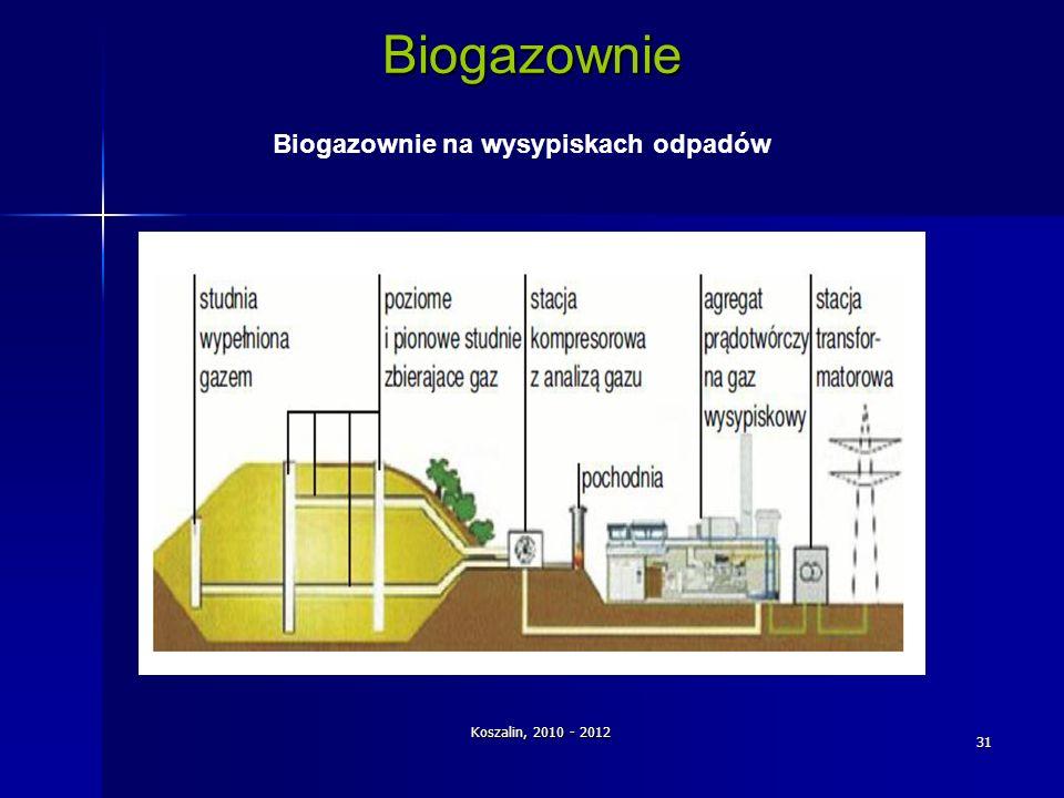 Biogazownie na wysypiskach odpadów