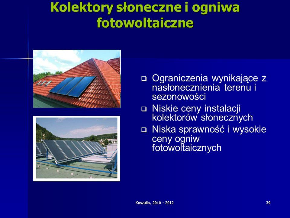 Kolektory słoneczne i ogniwa fotowoltaiczne
