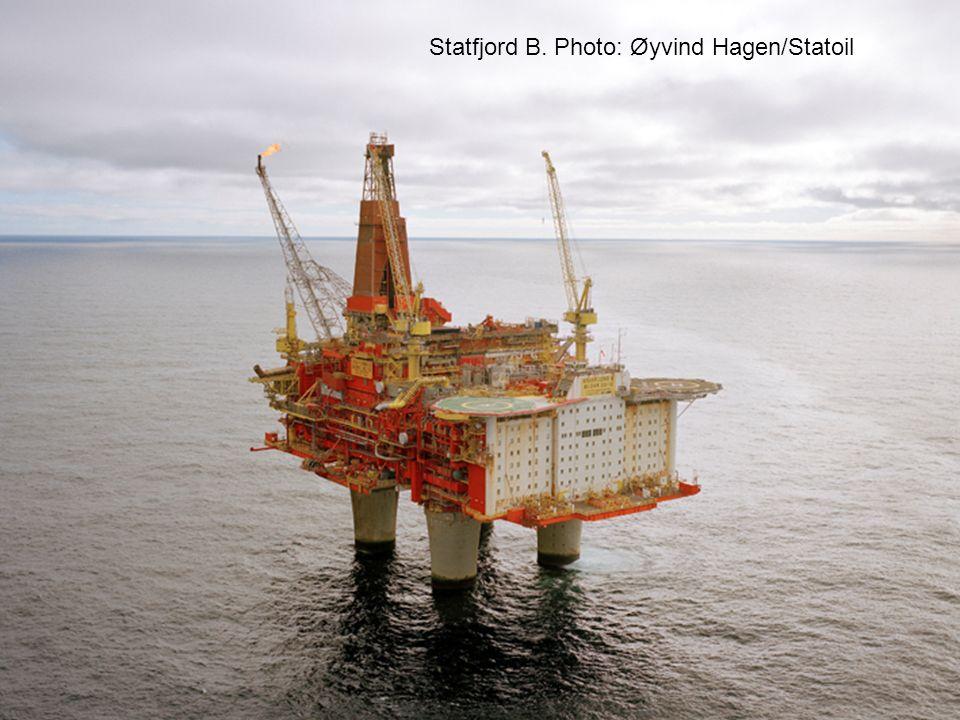 Statfjord B. Photo: Øyvind Hagen/Statoil
