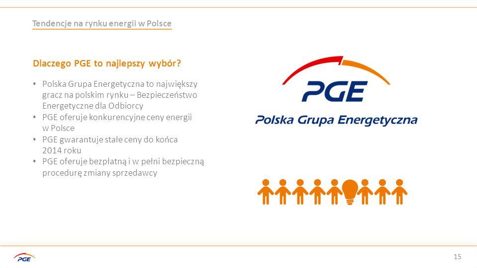 Dlaczego PGE to najlepszy wybór