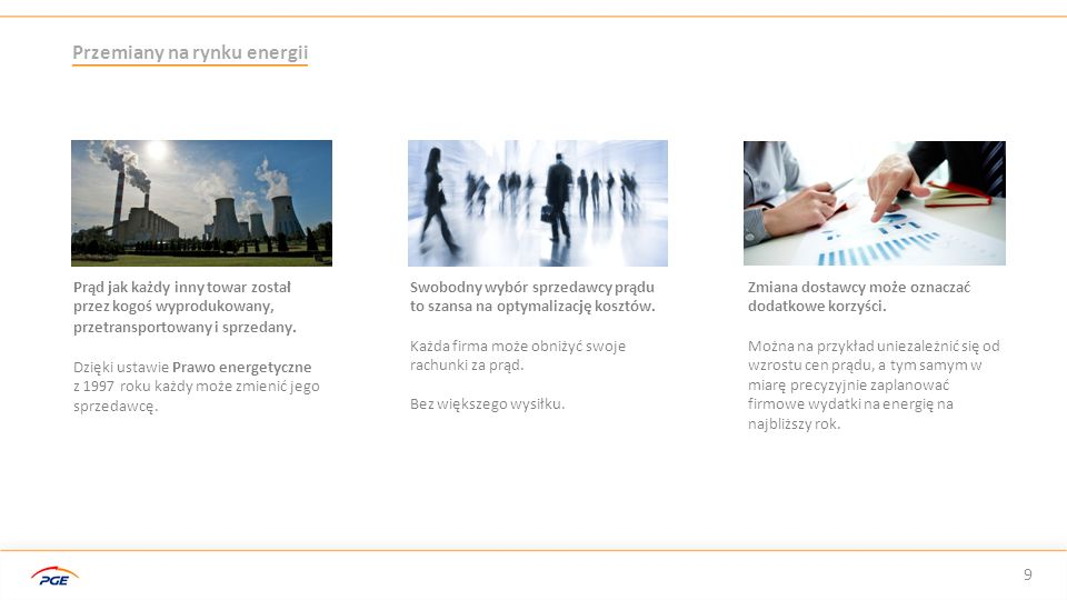 Przemiany na rynku energii