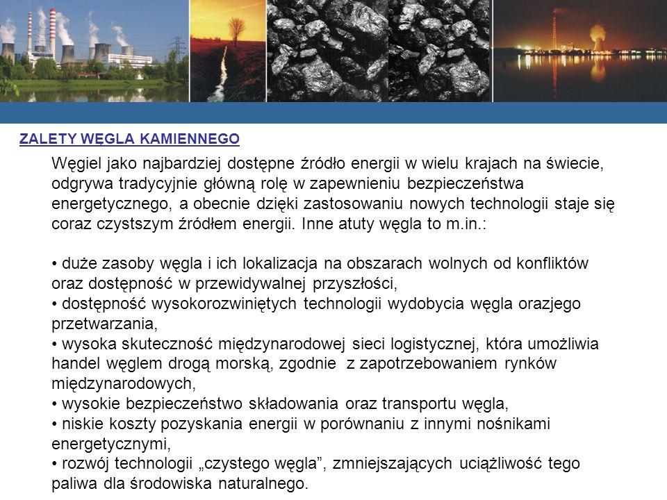 wysokie bezpieczeństwo składowania oraz transportu węgla,