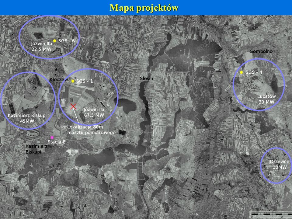 Mapa projektów 5