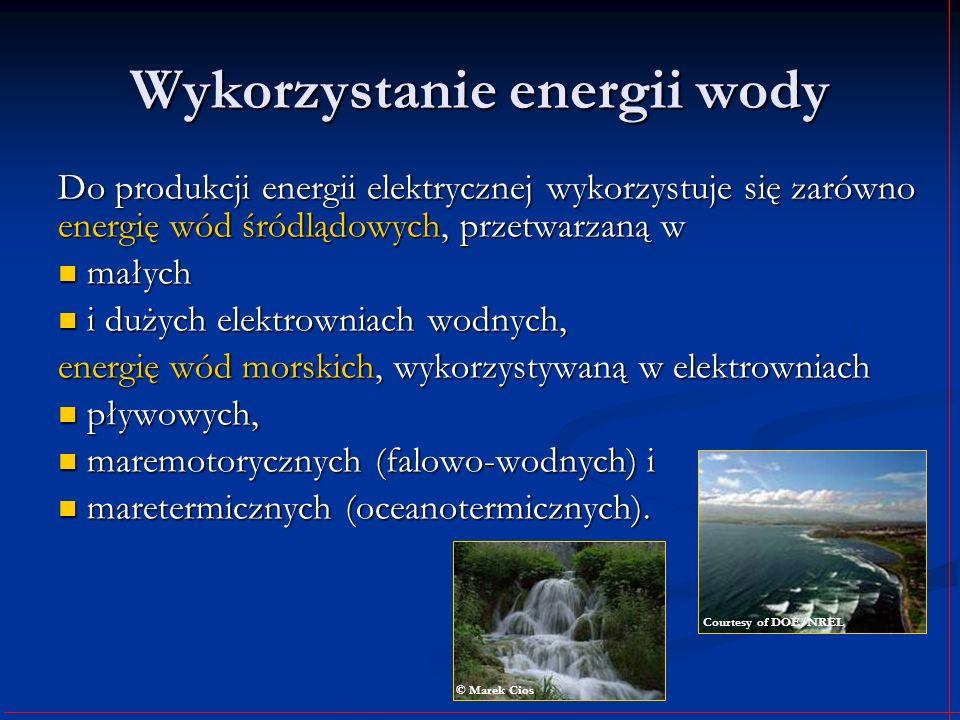 Wykorzystanie energii wody