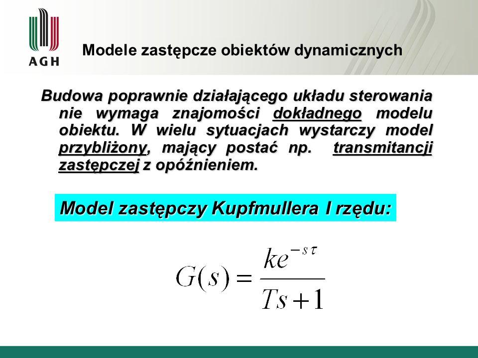 Modele zastępcze obiektów dynamicznych