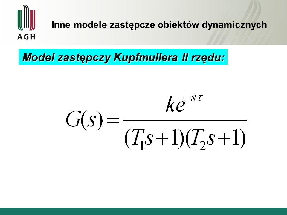 Model zastępczy Kupfmullera II rzędu: