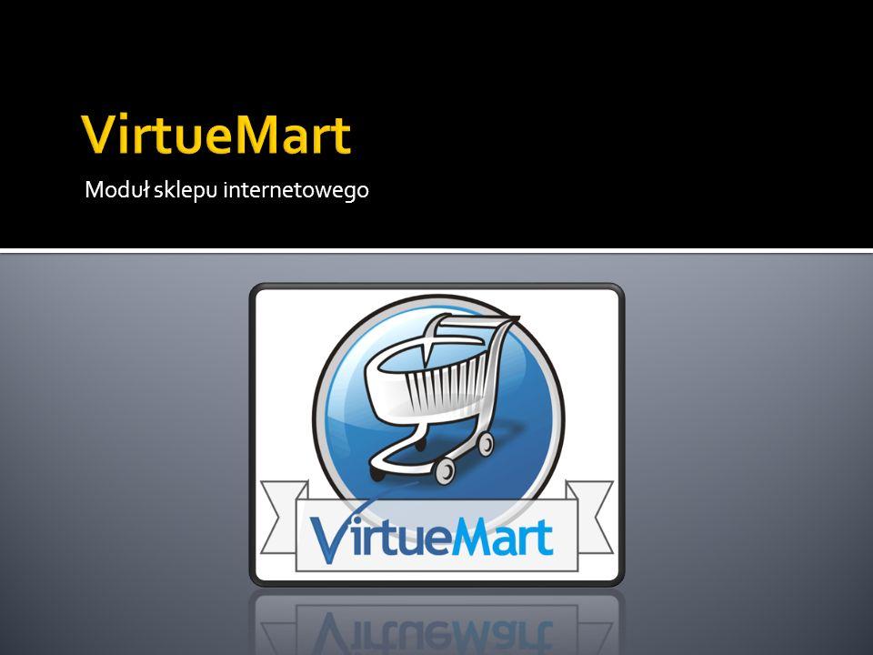 VirtueMart Moduł sklepu internetowego