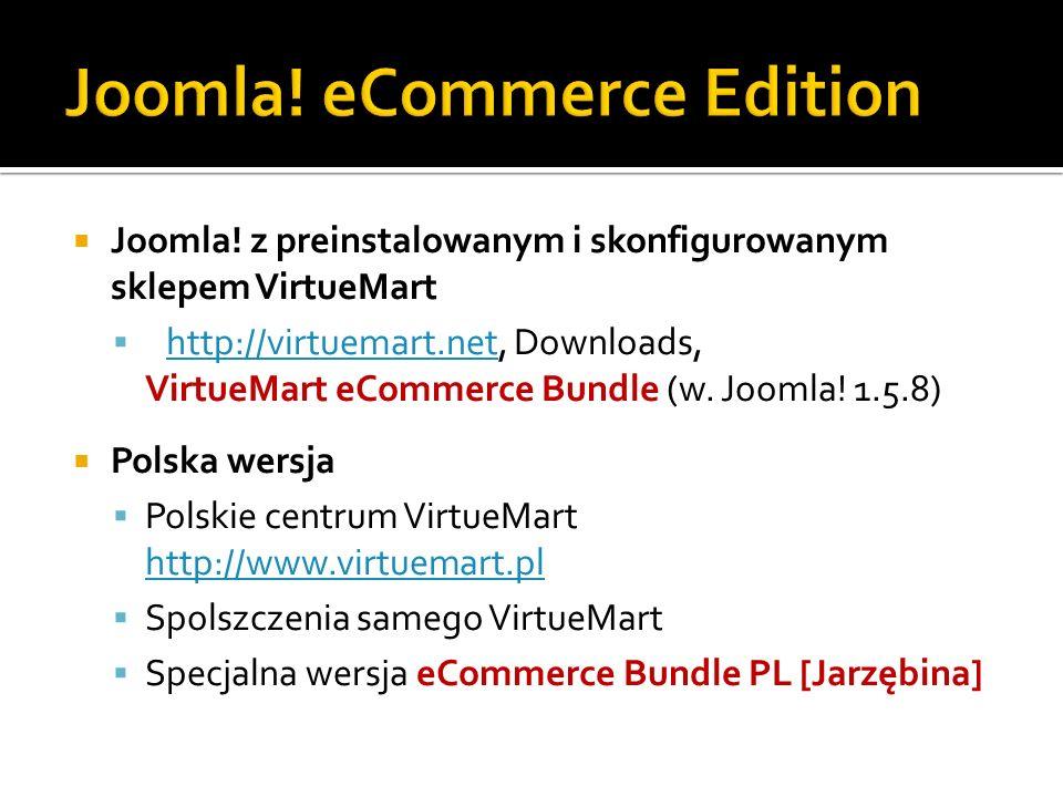 Joomla! eCommerce Edition