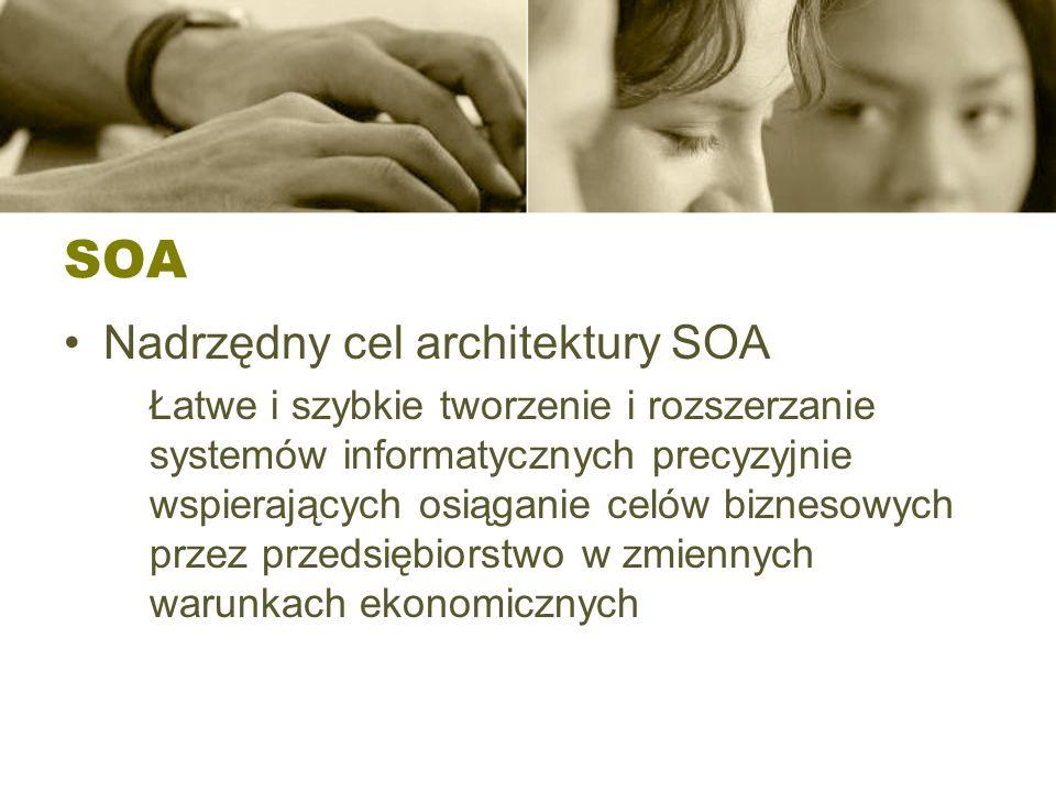 SOA Nadrzędny cel architektury SOA