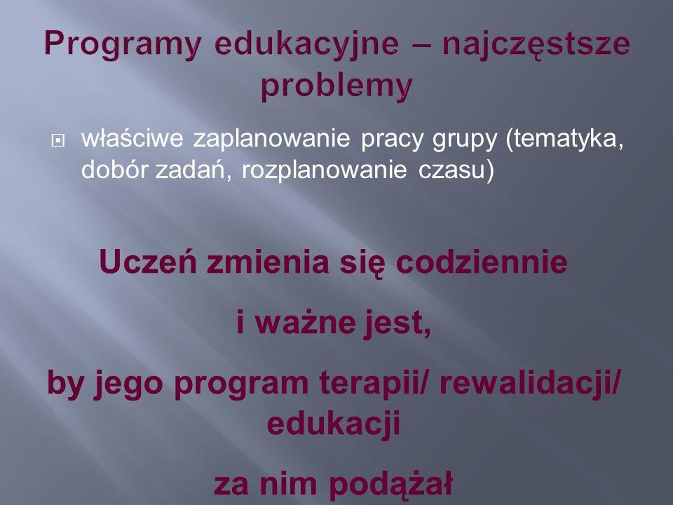 Programy edukacyjne – najczęstsze problemy