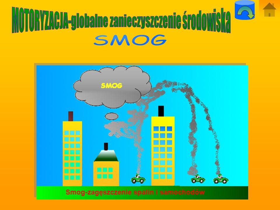 MOTORYZACJA-globalne zanieczyszczenie środowiska
