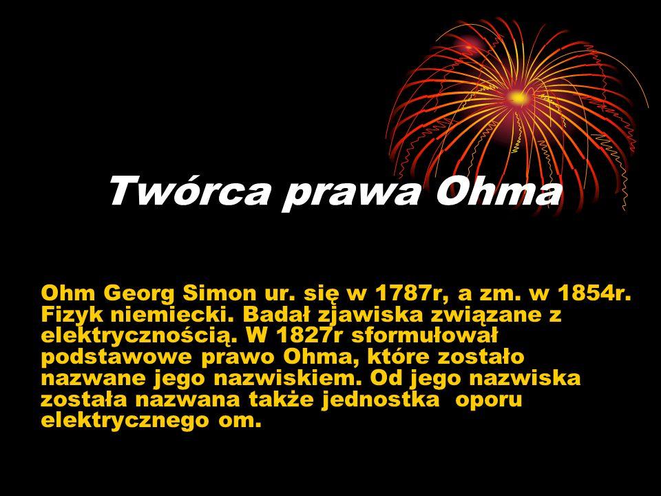 Twórca prawa Ohma
