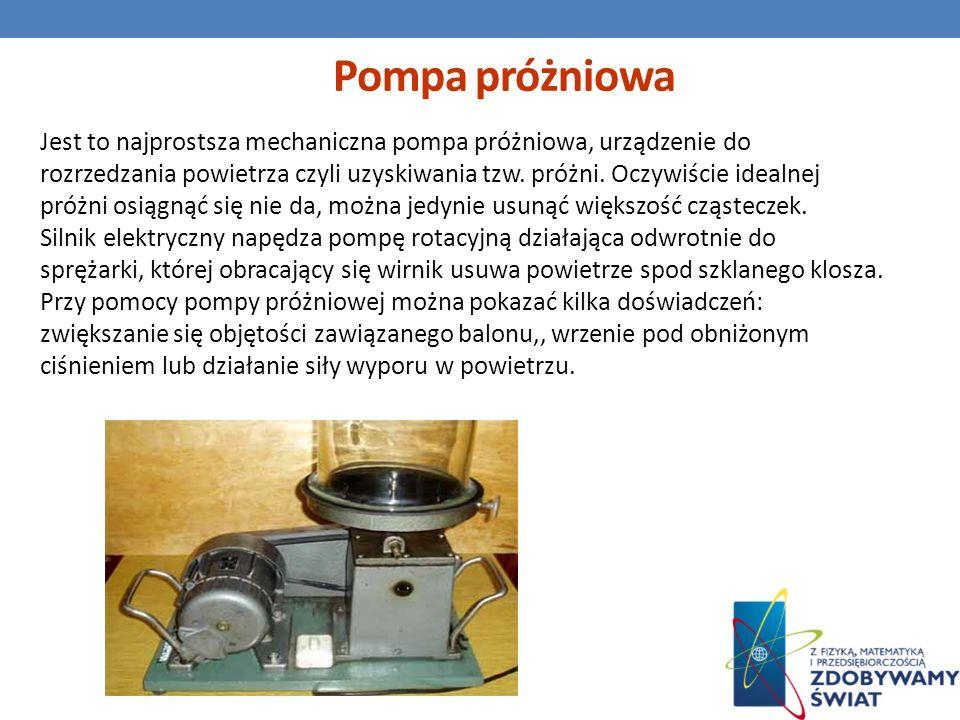 Pompa próżniowa