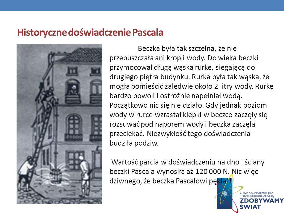 Historyczne doświadczenie Pascala