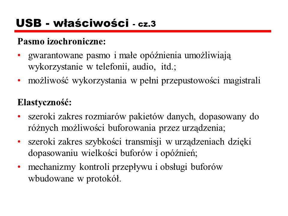USB - właściwości - cz.3 Pasmo izochroniczne:
